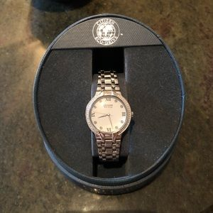 Eco-Drive Bella Diamond Accented Watch